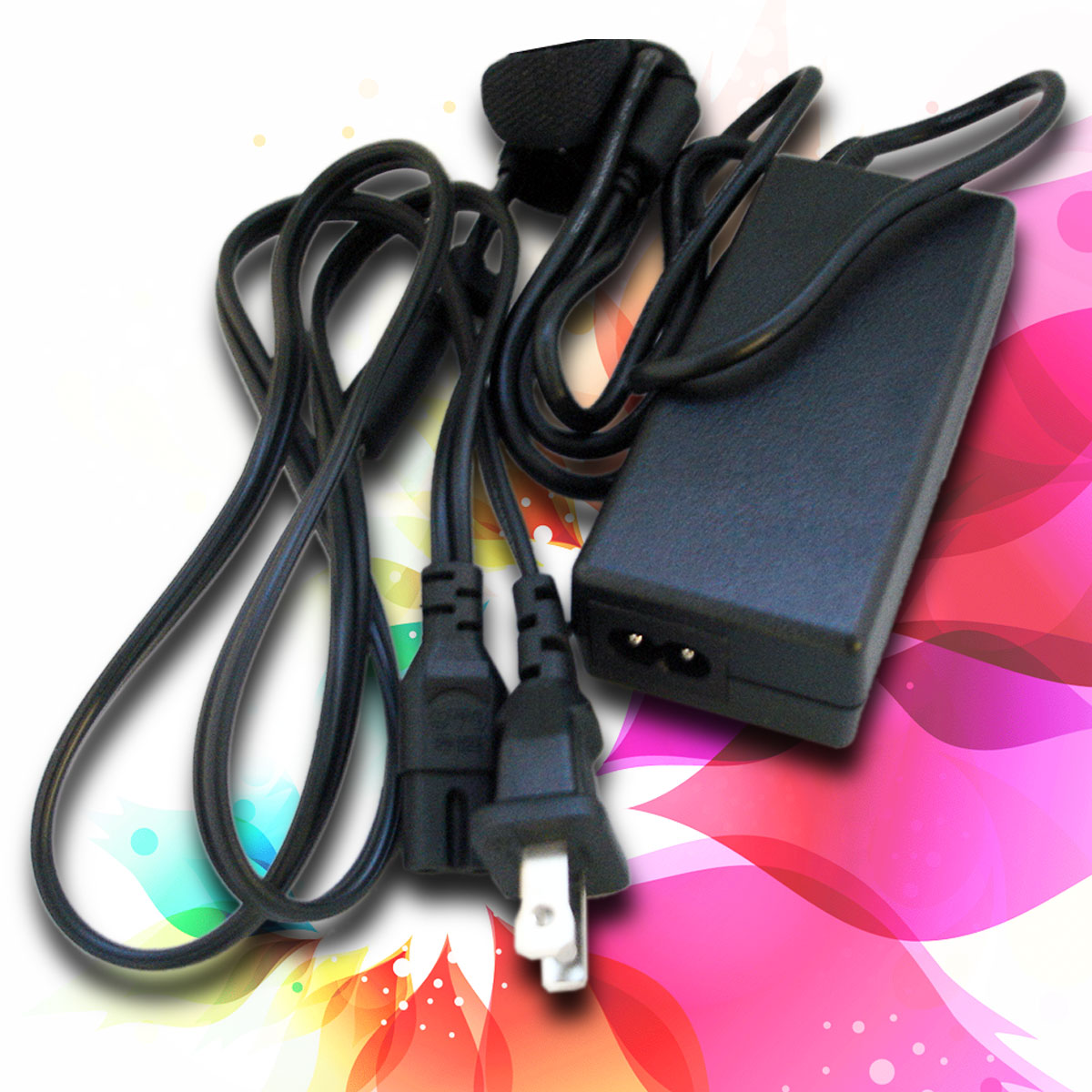 AC Power Adapter for HP Pavilion G60-247cl G60-441us G60-533cl G60-635dx w Cord