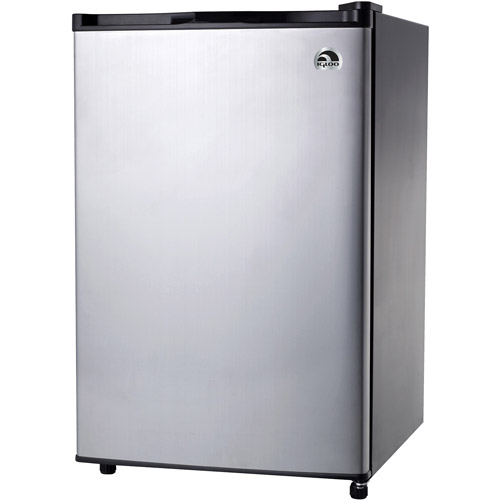 Igloo 3.2 cu ft Refrigerator, Platinum