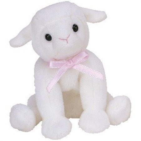 Ty Basket Beanies Lullaby Lamb (Smaller than Beanie - Creepy Lullaby