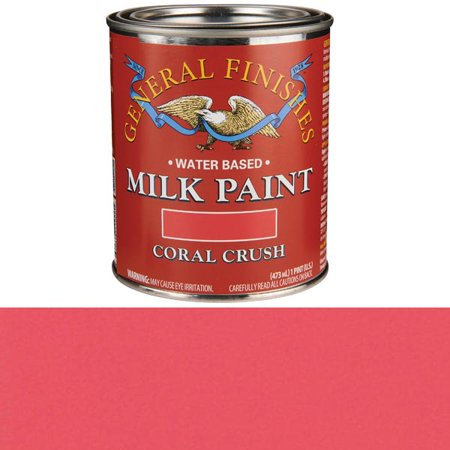 General Finishes, MILK PAINTS, CORAL CRUSH, -