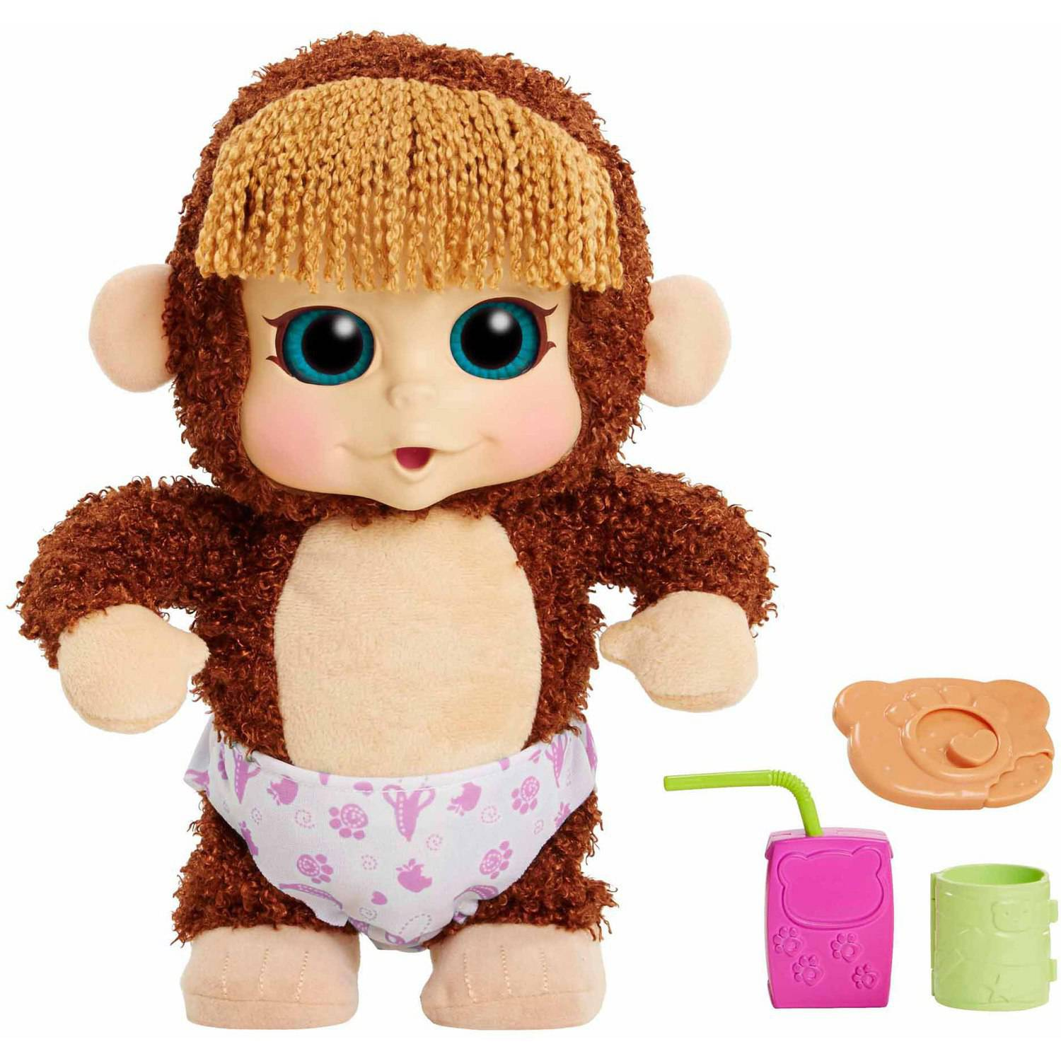 Animal Babies Feature Monkey, Jumpin Lil Monkeys, Girl