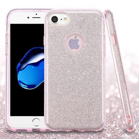 Mystcase™ For Apple iPhone 7 PLUS SHINE HYBRID HARD Case Rubber Cover + Screen Guard
