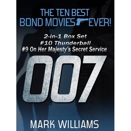 The Ten Best Bond Movies...Ever! 2-in-1 Box Set: #10 Thunderball and #9 On Her Majesty's Secret Service -