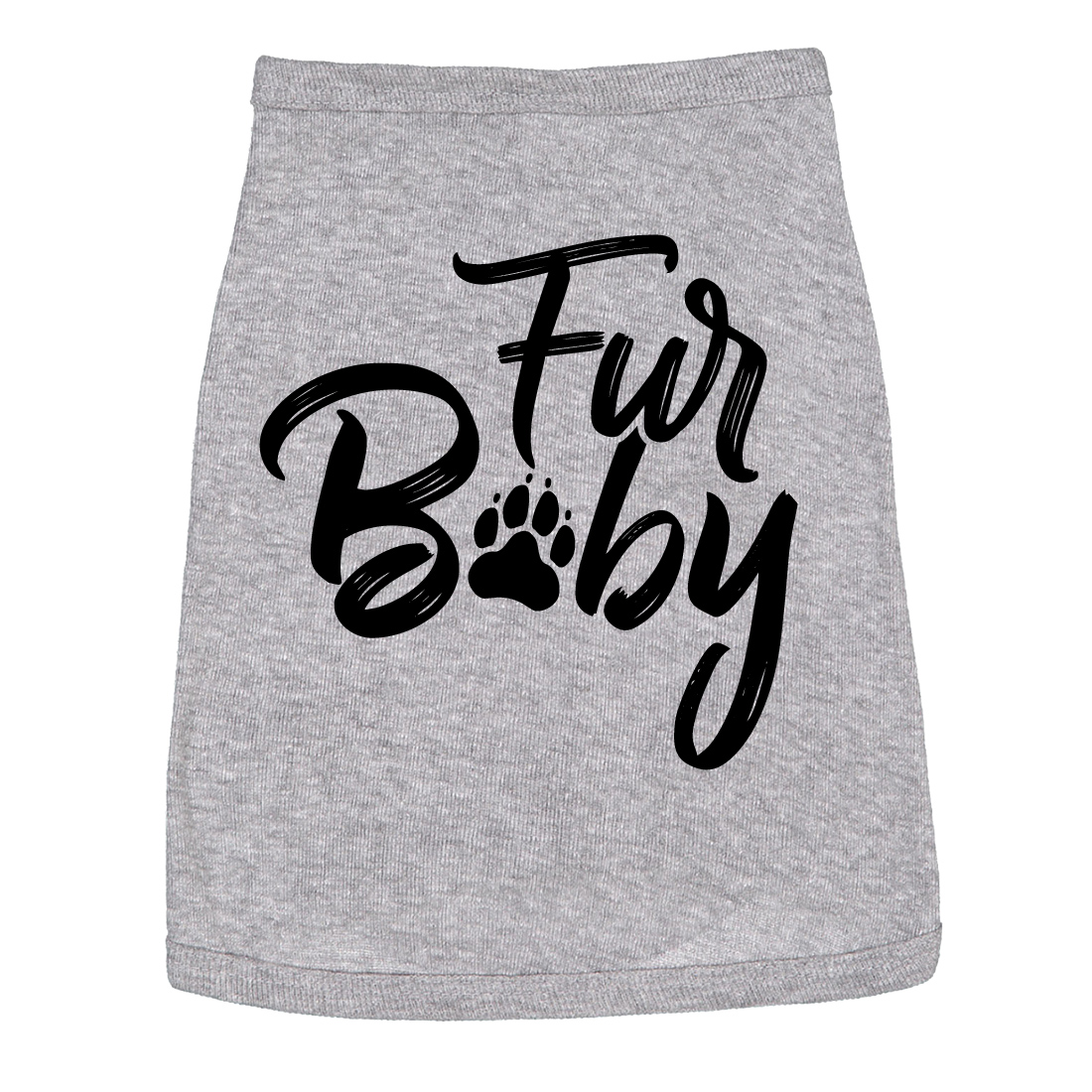 Dog Shirt Fur Baby Cute Dog Clothes For Familly Pet