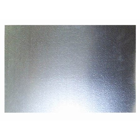 Steelworks Boltmaster 11181 Galvanized Steel Sheet, 26-Gauge, 24 x 24-In. - Quantity 1