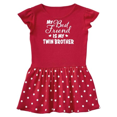 My Best Friend is My Twin Brother with Hearts Toddler