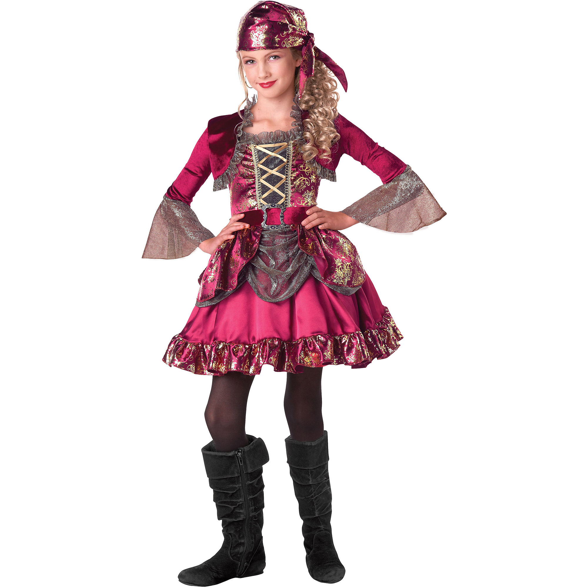 Pretty Pirate Girls Halloween Costume by SEASONS HK LTD