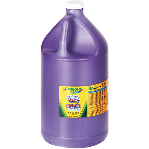 Crayola Washable Paint, Violet, 1 gal