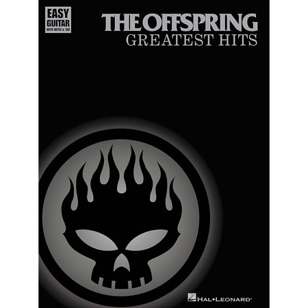 - Hal Leonard The Offspring Greatest Hits Easy Guitar Tab Songbook