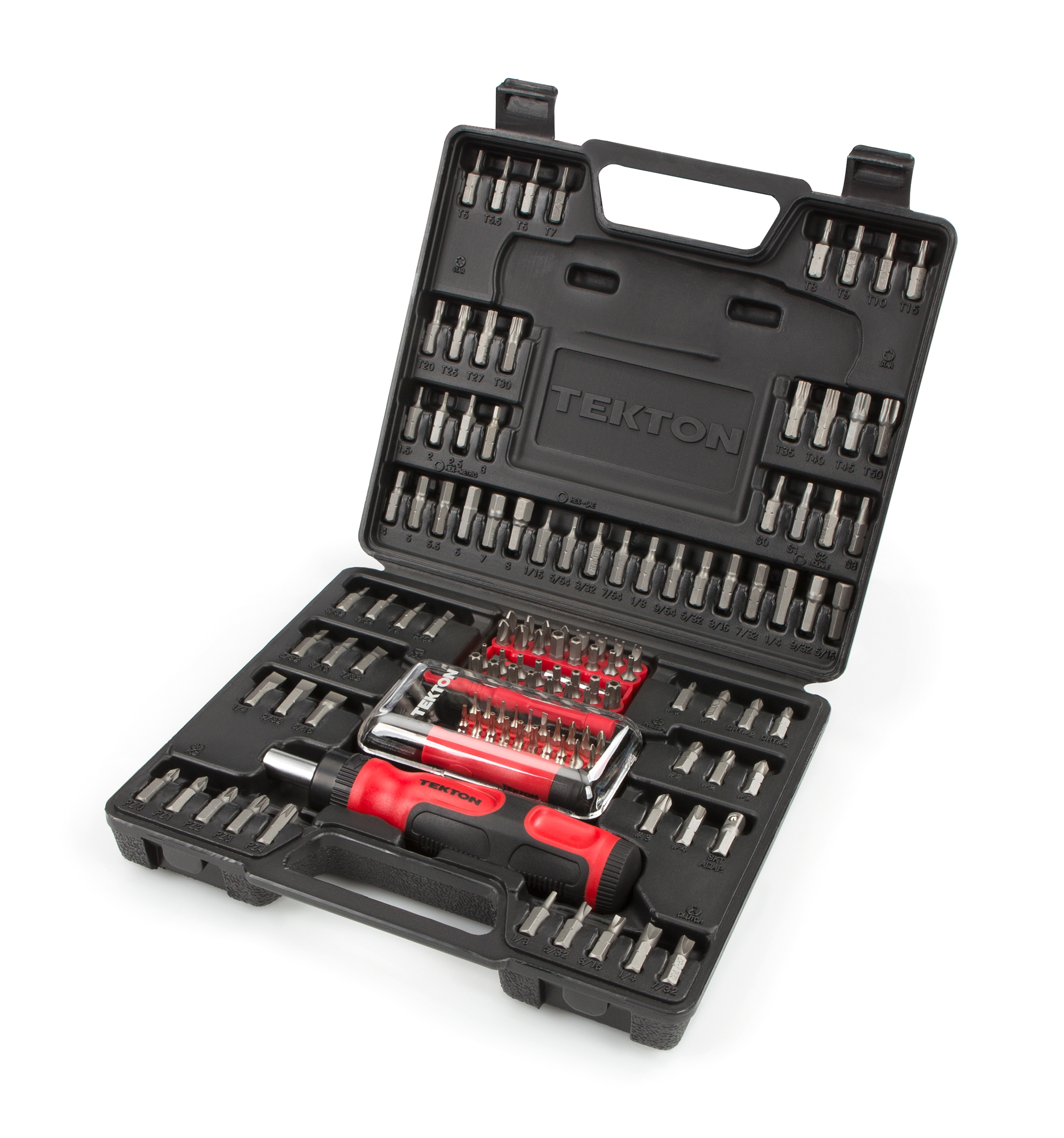 TEKTON Everybit (TM) Ratchet Screwdriver, Electronic Repair Kit and Security Bit Set, 135-Piece | 2841