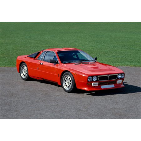 1983 Lancia Abarth Rally 20 litre 2 door coupe Inline-4 DOHC engine producing 325 bhp 8000rpm Country of origin Italy Canvas Art - Panoramic Images (18 x 24)