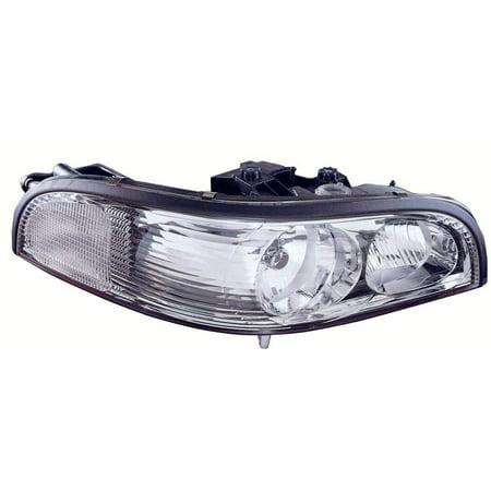 1997-2005 Buick Park Avenue  Aftermarket Passenger Side Front Head Lamp Assembly (Park Avenue Headlamp Headlight Lamp)
