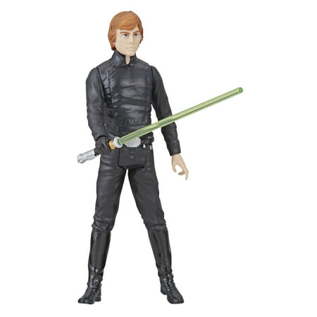 Star Wars Galaxy of Adventures Luke Skywalker Figure and Mini - Star Wars 7 Luke Skywalker