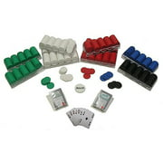 Trademark Poker 1000 Poker Chips Texas Hold'Em Set