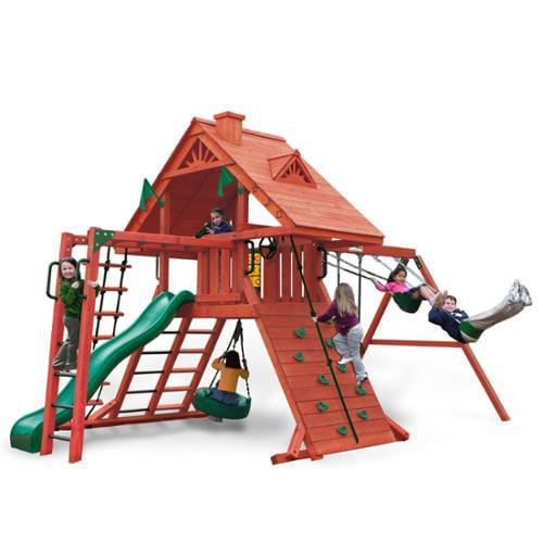 Gorilla Playsets Sun Palace II Backyard Swing Set