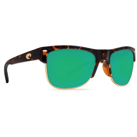 Costa Del Mar Pawleys Retro Tortoise Square Sunglasses