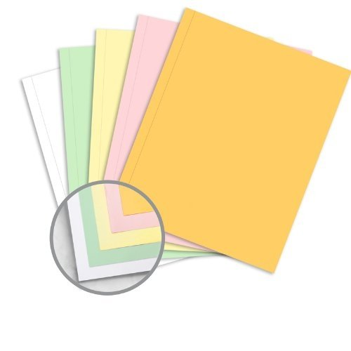 NCR 9 x 11 Superior Perf Carbonless Paper 21.4lb Writing Precollated 5-Part RS Goldenrod, Pink, Canary, Green,... by Appvion NCR Paper* Brand Superior Perf