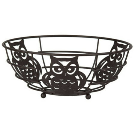 Home Basics Bronze Owl Fruit - Bronze 3 Light Bowl