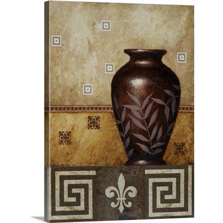 Great BIG Canvas | Michael Marcon Premium Thick-Wrap Canvas entitled Mahogany Urn I