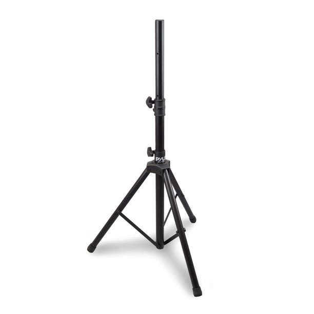 PYLE PSTND1 - Tripod Speaker Stand Holder Mount, Extending Height Adjustable, Rugged Steel Construction