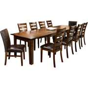 Imagio Home by Intercon Kailua Expansion Dining Table, Distressed Raisin