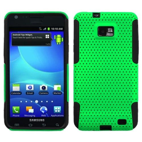 Insten Green/Black Astronoot Phone Case for SAMSUNG: I777 (Galaxy S II)