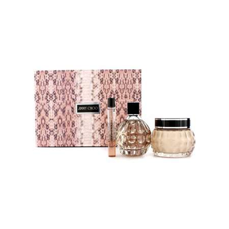 44c43082671b Jimmy Choo Coffret  Eau De Parfum Spray 100ml 3.3oz + Glittering Body Cream