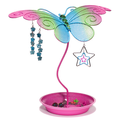 Three Cheers For Girls! Butterly Jewelry Holder