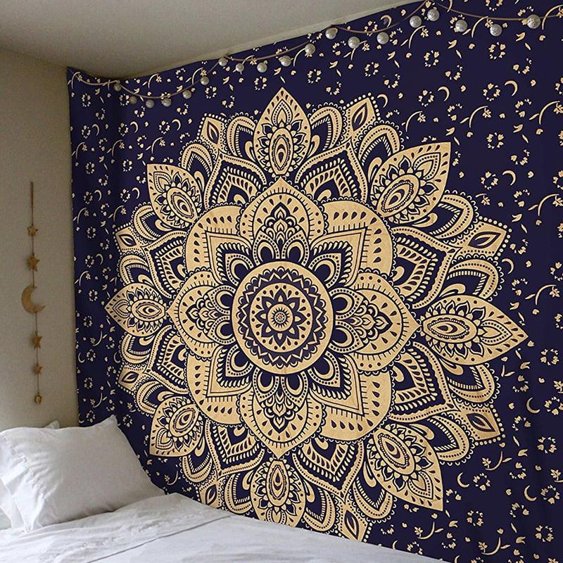 Tommyfit Bohemian Mandala Tapestry Hippie Wall Hanging
