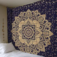 Tommyfit Bohemian Mandala Tapestry Hippie Wall Hanging Tapestry Bedspread Dorm Decor