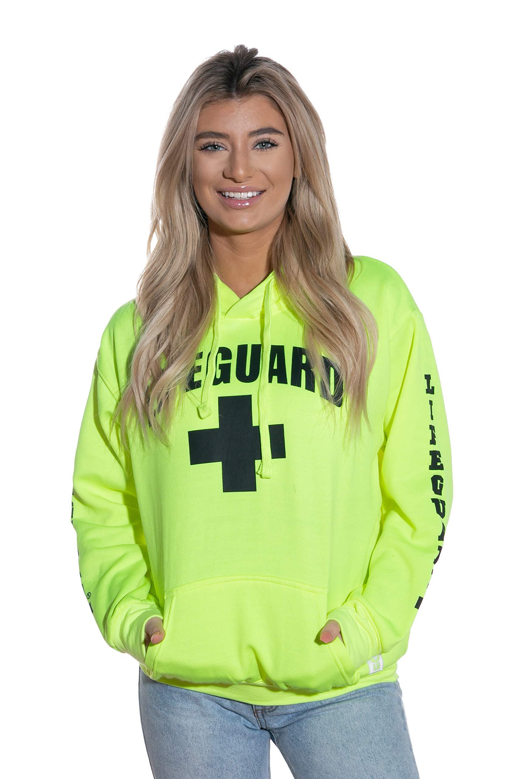 Classic Pullover Hoodie Fleece Sweatshirt Hooded Gym Outdoor Tops Yellow