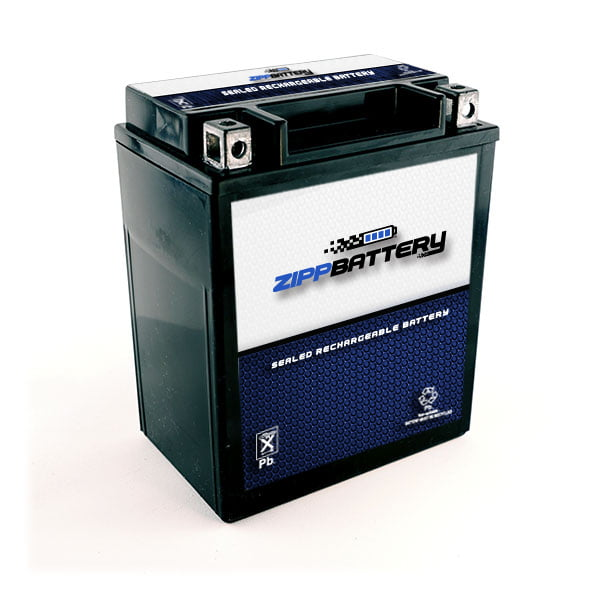 Sealed AGM Motorcycle Battery Maintenance Free YB14A-A2  High Performance