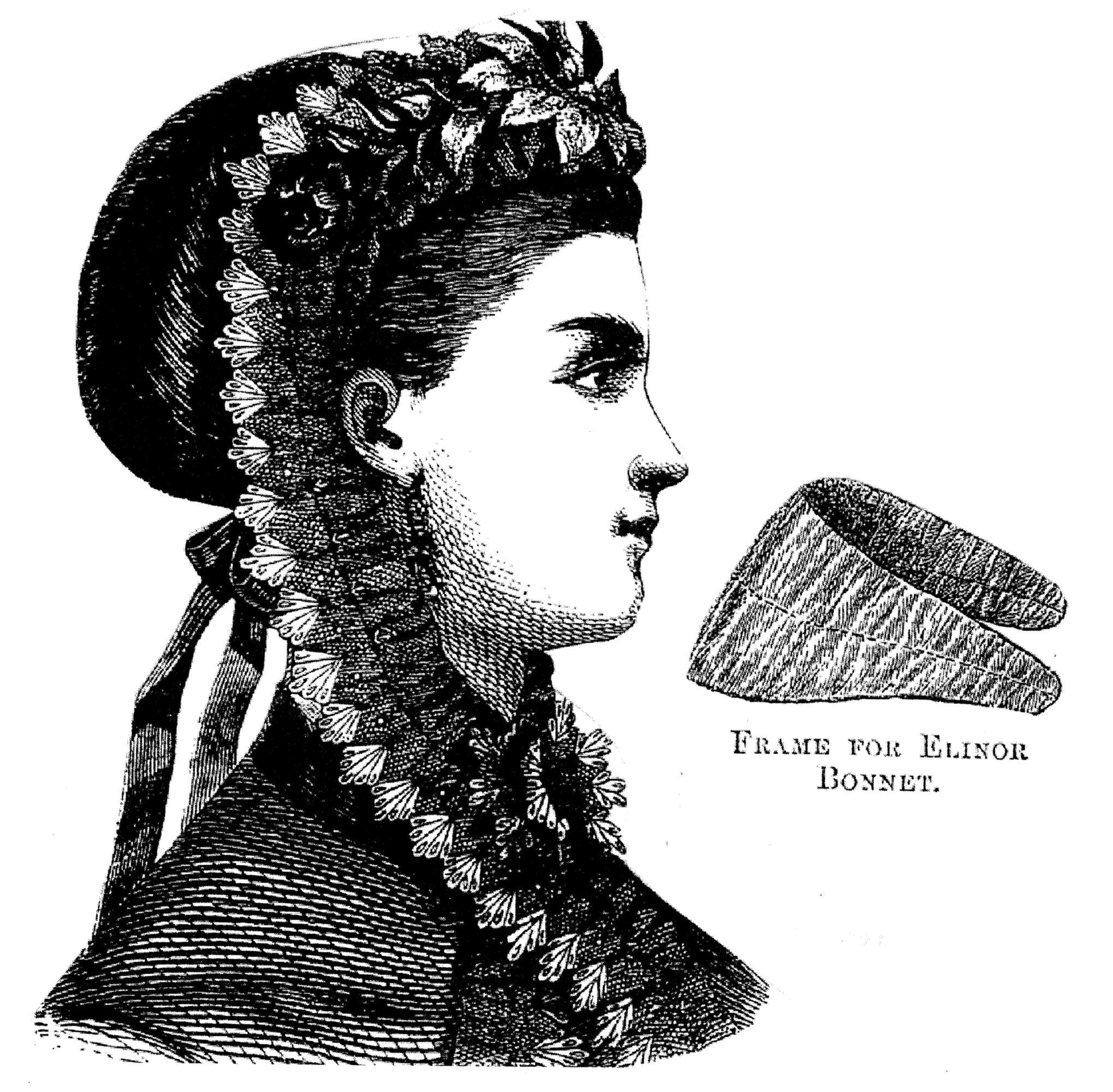 Sewing Pattern: 1869 Elinor Bonnet