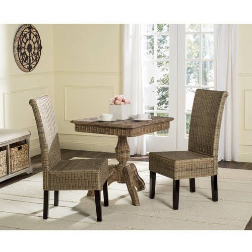 Safavieh Arjun Wicker Dining Chair, Multiple Colors, Set of 2 by Safavieh