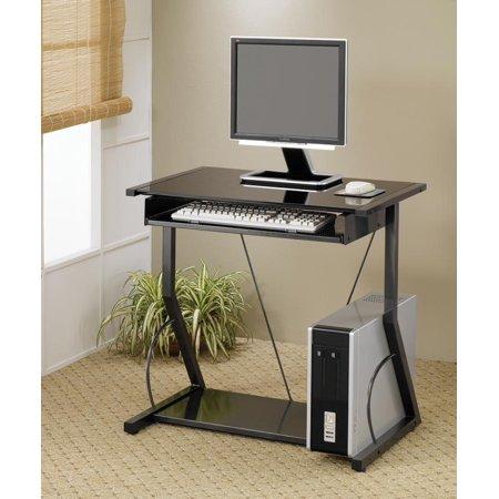 Coaster Company Small Space Computer Desk, Black - Walmart.com