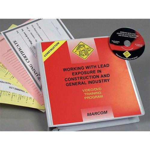 Marcom V0001039ST Construction Safety Training, DVD