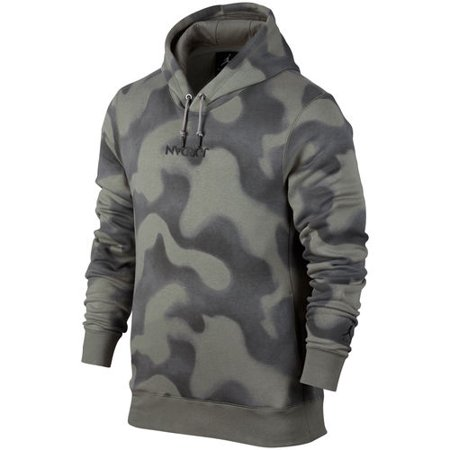 76abe37258e2 men s brand jordan hunter green p51 jordan flight fleece pullover hoodie -  Walmart.com