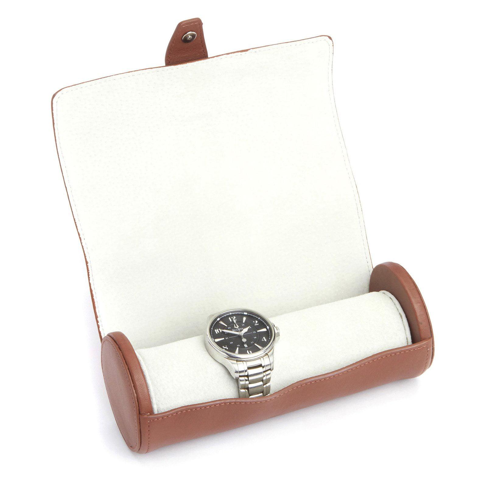 Royce Luxury Travel Watch Storage - 8W x 3.25H in.