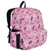 Horses in Pink 17 Inch Backpack