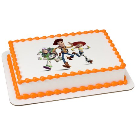 Toy Story ( 4 ) It's time to play Edible Cake Topper Image Party 1/4 (It's Party Time)