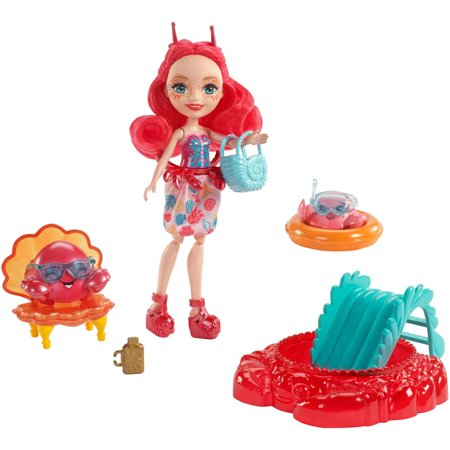 Enchantimals Cameo Crab Dolls - Rapunzel Cameo