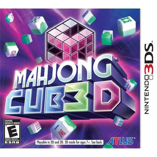 Mahjong Cub3D (Nintendo 3DS)