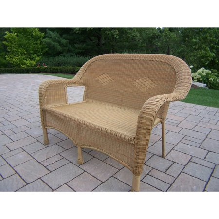 Oakland Living Corporation Calabasas Outdoor Patio Honey ... on Outdoor Living Wicker id=49719
