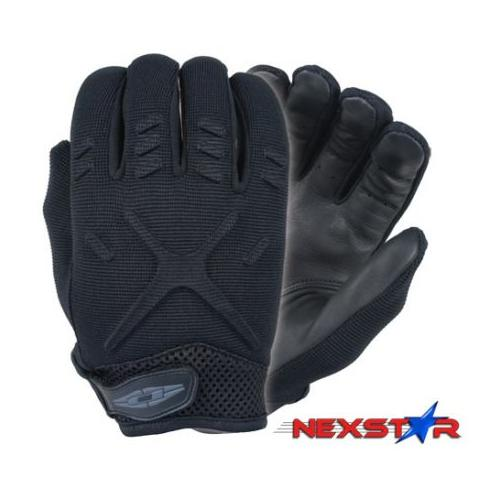 Damascus MX30 Interceptor X Unlined Gloves with Leather Palms, XX-Large, Black M