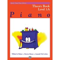 Alfred's Basic Piano Library Theory, Bk 1a (Paperback)