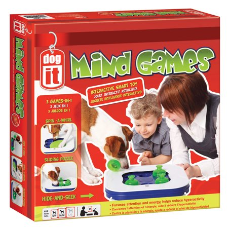 Dogit Mind Games 3-in-1 Smart Toy