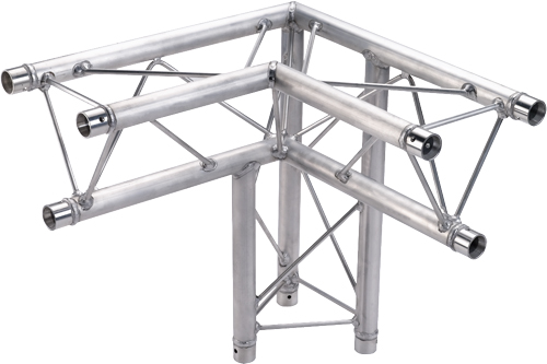 Global Truss Tr 96117 33 3 Way 90 Degree Corner