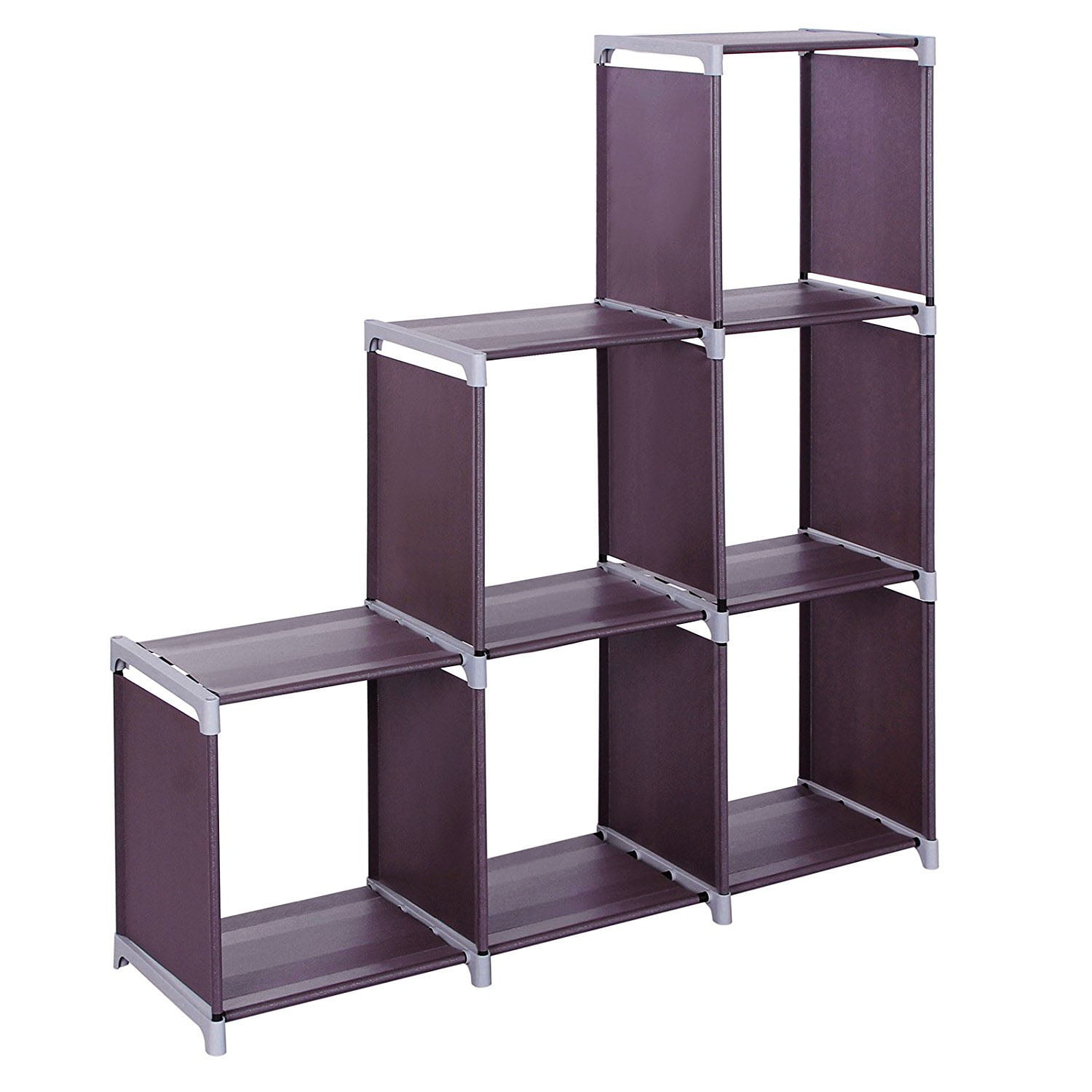 Superieur Veryke 3 Tiers Storage Cubes, 9 Cubes Storage Shelf Organizers, Book Shelf  Cube Storage Shelf For Clothes, Bookcase Plastic Storage Cabinets For ...