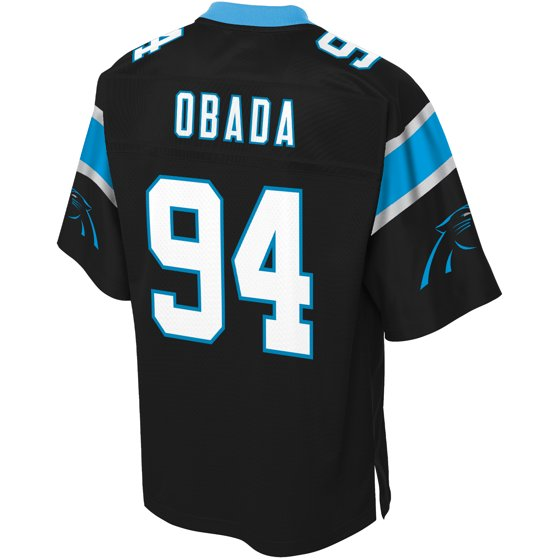 newest b5ebe ff4b0 Efe Obada Carolina Panthers NFL Pro Line Player Jersey ...