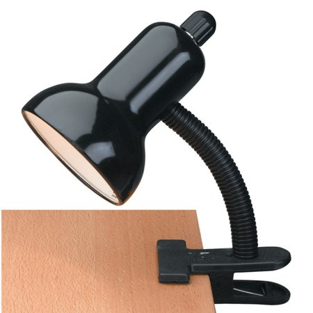 Clip-On 1 Light Desk Lamp with Lite Source Shade - Lite Source